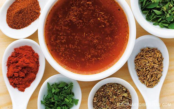 Thermomix: Salsa especiada para asados
