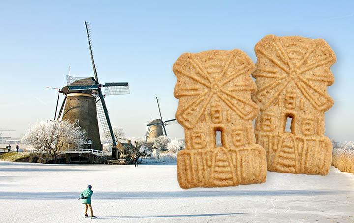 Speculaas: las ricas galletas de invierno de Holanda