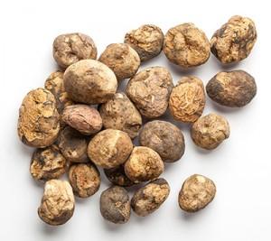 Chunos, patatas secadas