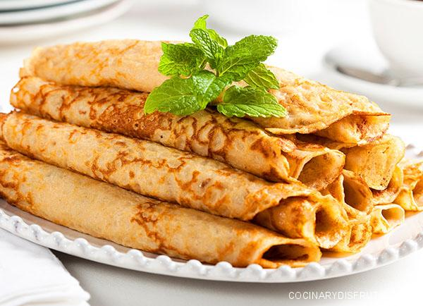 Crepes (panqueques) sin gluten