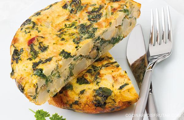 Tortilla de grelos – una rica especialidad gallega