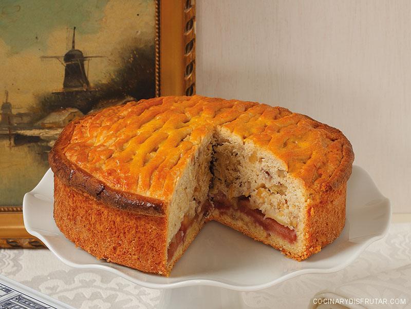 Appeltaart, la famosa tarta de manzana holandesa. Receta en español.