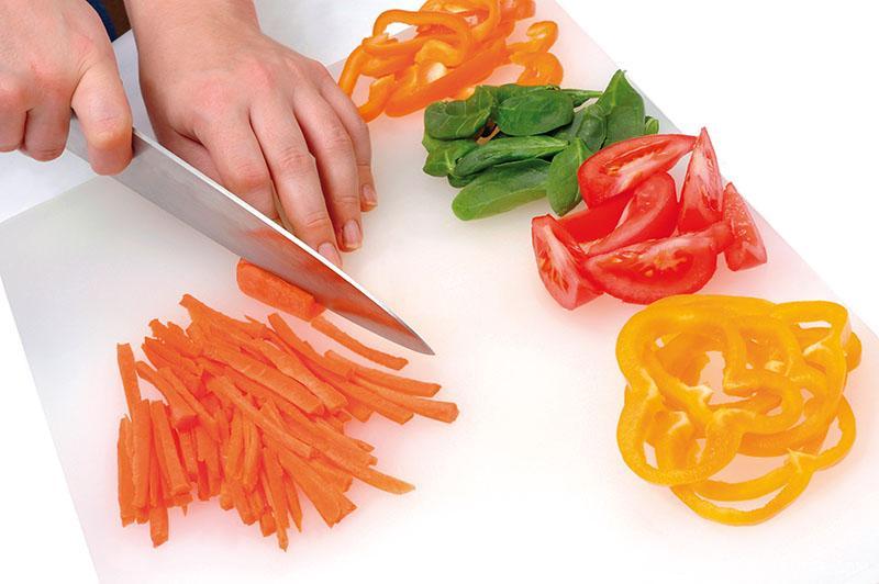 Aprende las diferentes formas de cortar en la cocina