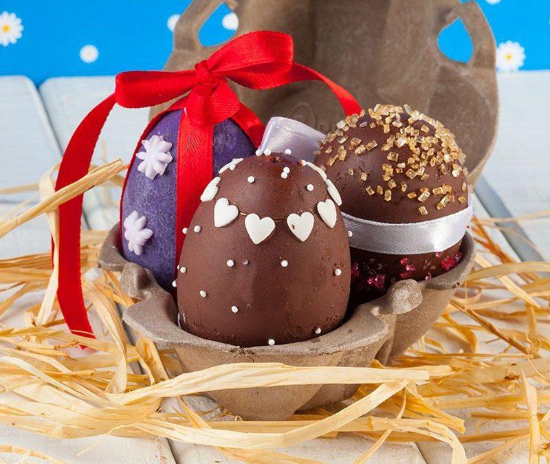 Cakeballs: huevos de Pascua