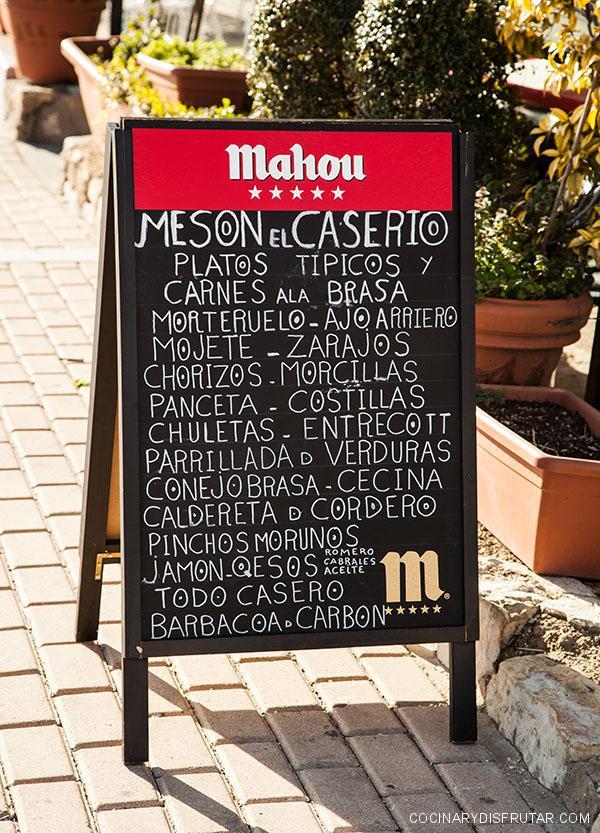 La gastronomía de Cuenca ofrece una enorme variedad de platos.