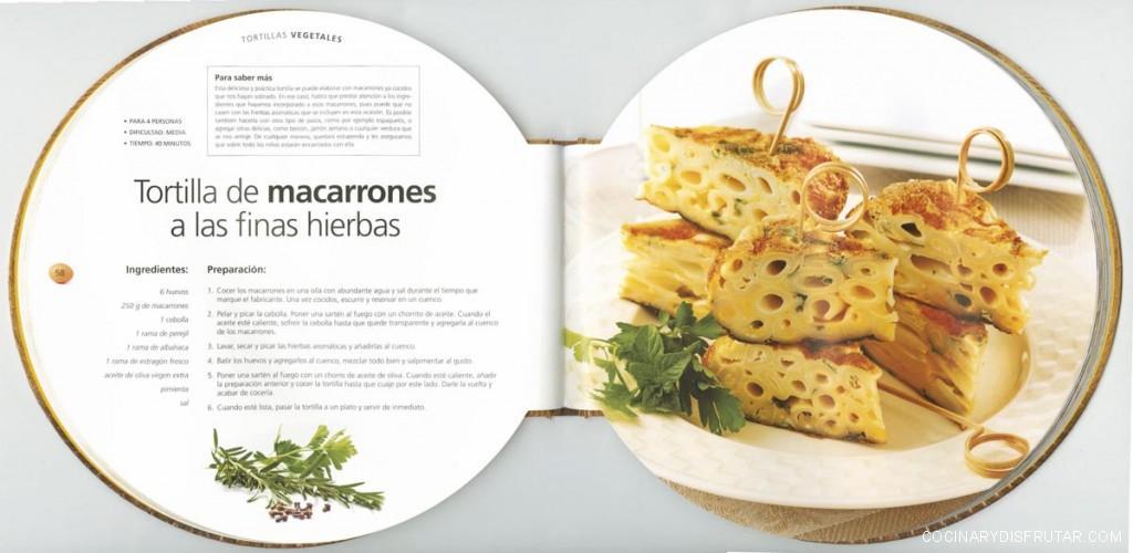 Libro tortillas redondo
