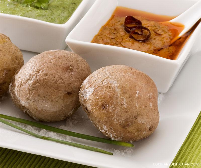 Papas arrugadas. Receta rápida, fácil y barata para preparar el famoso plato de la cocina canaria.