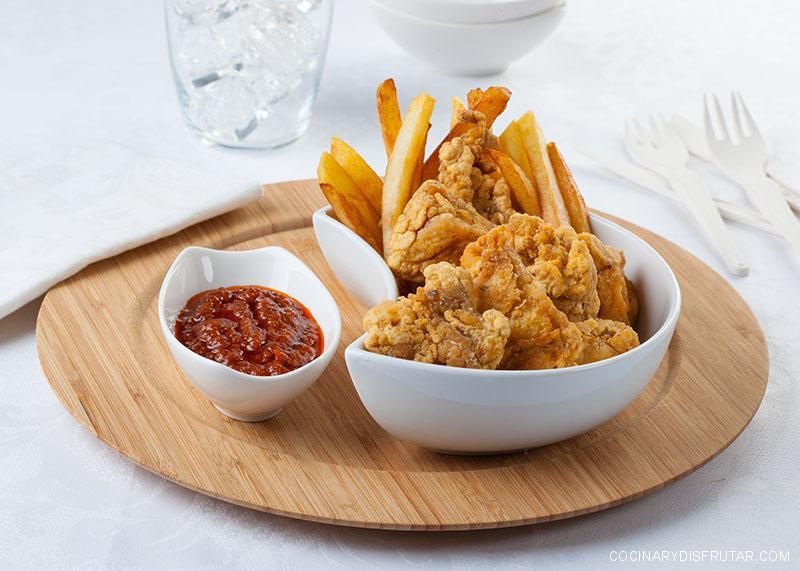 Pollo frito al estiloKentucky