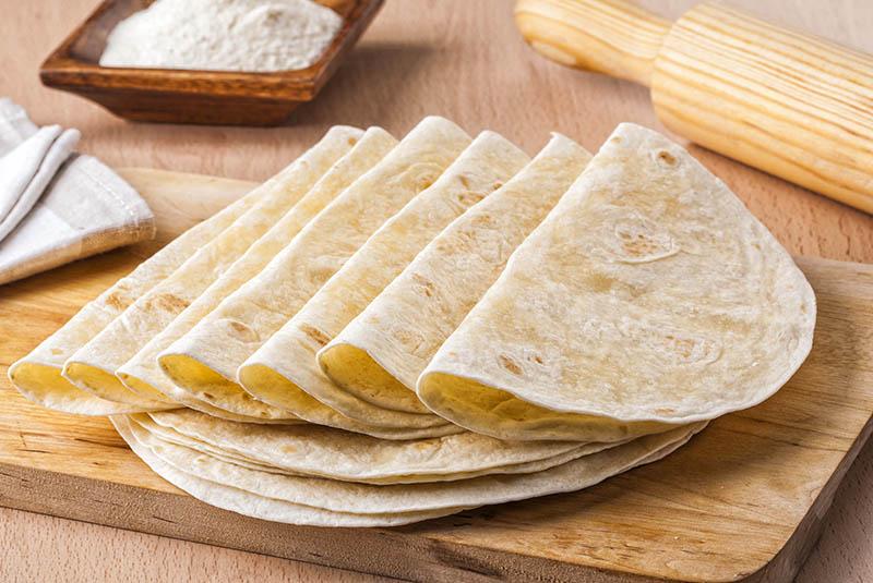 Tortillas de maíz. Sin gluten