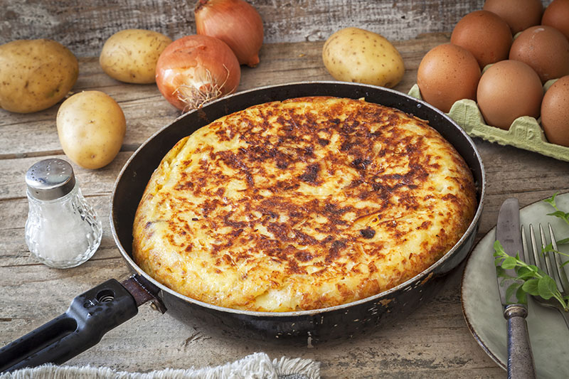 Tortilla española de patatas